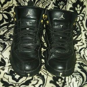 Nike Air Jordans  Master XII Retro black master